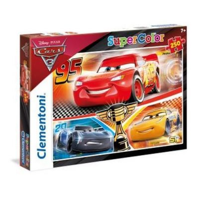 Puzzle SuperColor Cars 3 250