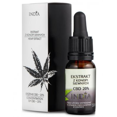 India Cosmetics Ekstrakt z CBD 20% 10 ml