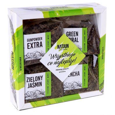 Zestaw 4 herbat zielonych