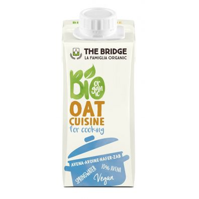 The Bridge Krem owsiany do gotowania 200ml EKO 200 ml Bio