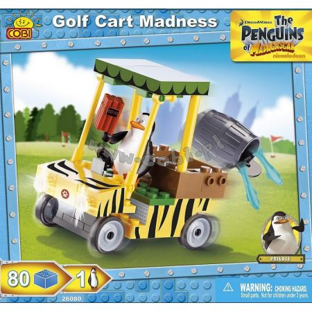 Penguins 26080 Golf Cart Madness