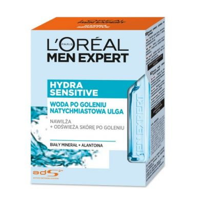 LOreal Paris Men Expert Hydra Sensitive woda po goleniu 100 ml