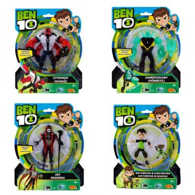 Ben 10 - figurka 5 ass. 13cm mix