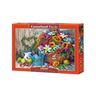 Puzzle 1500 Fresh FROM the Garden - Castorland