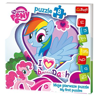 Puzzle Baby Fun - Rainbow Dash My Little Pony TREFL