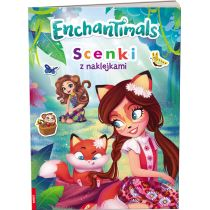 Enchantimals. Scenki z naklejkami
