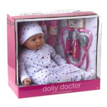 Lalka Bobas. Dolly Doctor 46 cm Dolls World
