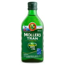 Moller`s Tran norweski suplement diety Naturalny 250 ml