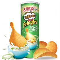 Pringles Sour Cream & Onion 165 g