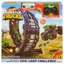Hot Wheels Zestaw Monster pętla GKY00 Mattel