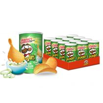 Pringles Sour Cream Onion Zestaw 12 x 70g