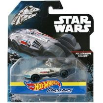 Hot Wheels Star Wars autostatki kosmiczne - MILLENNIUM FALCON Mattel