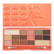 Makeup Revolution Chocolate And Peaches paleta 16 cieni 22 g