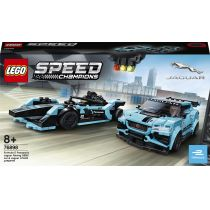 LEGO Speed Champions Formula E Panasonic Jaguar Racing GEN2 car i Jaguar I-PACE eTROPHY 76898