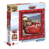 Puzzle 60 Frame Me Up Cars Clementoni