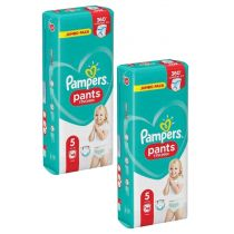 Pampers Pieluchomajtki Junior PANTS 5 (12-18 kg) JUMBO PACK 2x 48szt.