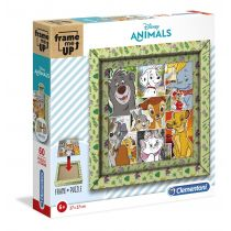 Puzzle 60 Frame Me Up Disney Animals Clementoni