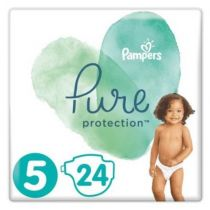 Pampers Pure Protection Pieluchy Junior 5 (11+ kg) 24 szt.