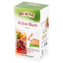 Big-Active Herbatka ziołowo-owocowa Active Burn Suplement diety 20 x 2g