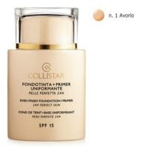 Collistar Even Finish Foundation+Primer 24h SPF15 podkład i baza w jednym 01 35 ml