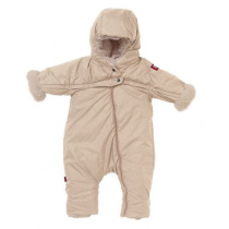 Red Castle Kombinezon zimowy Combi T-ZIP Heather Beige 6-12 m-cy