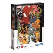 Puzzle 1000 Marvel 80 Years Clementoni