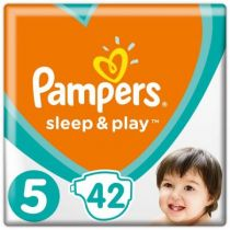 Pampers Pieluchy Junior 5 SLEEP&PLAY (11-16kg) 42 szt