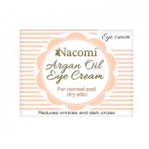 Nacomi Argan Oil Eye Cream arganowy krem pod oczy 15 ml
