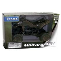 Teama Military ATV Quad 1:24