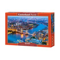 Puzzle 1000 Aerial View of London Castorland