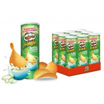 Pringles Sour Cream & Onion ZESTAW 9 x 165g