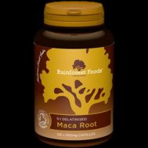 Rainforest Foods Maca bio (120 kapsułek x 500 mg)