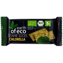 Earth Of Eco Sezamki z chlorellą bezglutenowe 18 g bio