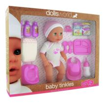 Lalka bobas. Baby tinkles 38 cm Dolls World