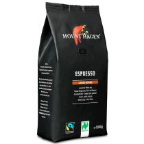 Mount Hagen Kawa ziarnista Arabica 100% espresso fair trade 1 kg Bio