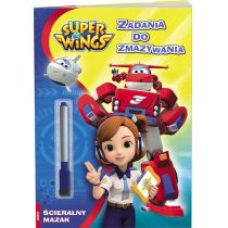 Super Wings. Zadania do Zmazywania