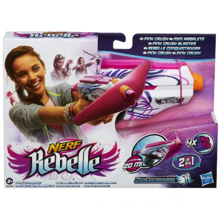 Nerf Rebelle Pink Crush Hasbro