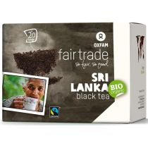Oxfam Fair Trade Herbata czarna ekspresowa fair trade 36 g bio