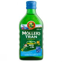 Moller`s Tran norweski suplement diety Owocowy 250 ml