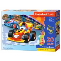 Puzzle 20 maxi - Racing action CASTOR Castorland