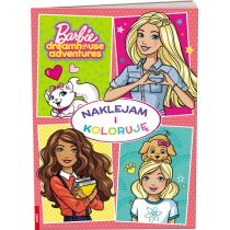 Barbie Dreamhouse Adventures. Naklejam i Koloruję