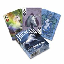 Bicycle Anne Stokes Unicorns BICYCLE, karty do gry
