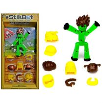 StikBot Action Pack Hair Styling Zestaw /zielony