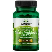 Swanson, Usa Ultimate 16 Strain Probiotic 60 kaps.