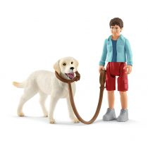 Spacer z Labrador Retriver