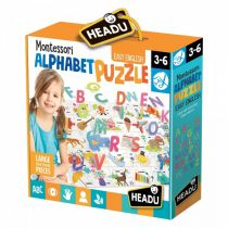 Puzzle do nauki alfabetu HEADU