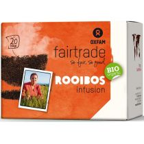 Oxfam Fair Trade Herbata rooibos infusion fair trade 36 g bio