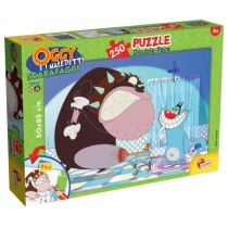 Puzzle dwustronne 250 Oggy i karaluchy