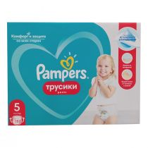 Pampers Pieluchomajtki Junior Pants 5 (12-17 kg) Monthly Box 152 szt.