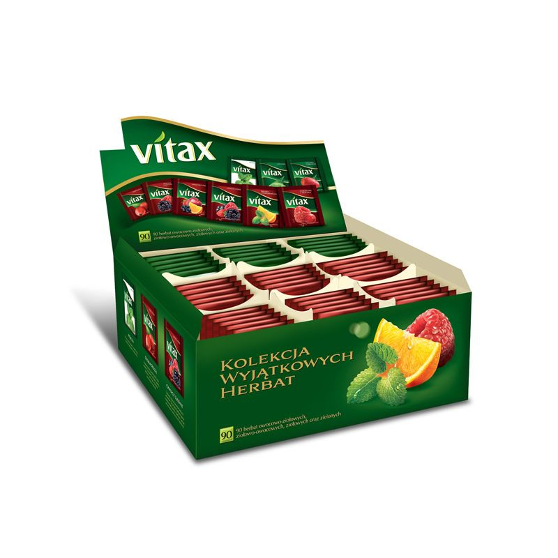 Vitax - Zestaw herbat Kolekcja Przyjemności 90 x 1,8 g